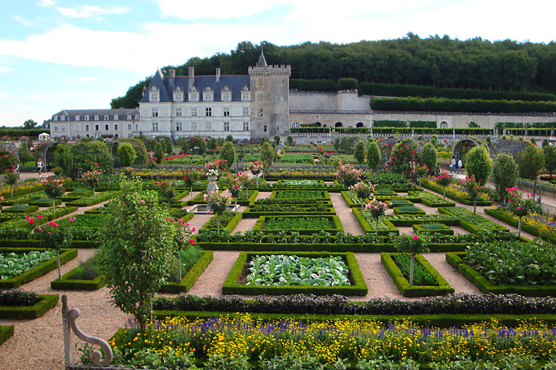I plan to visit some loire valley chateaux this fall take for Jardin villandry