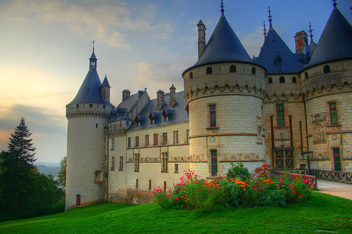 il castello di chaumont sur loire. Black Bedroom Furniture Sets. Home Design Ideas